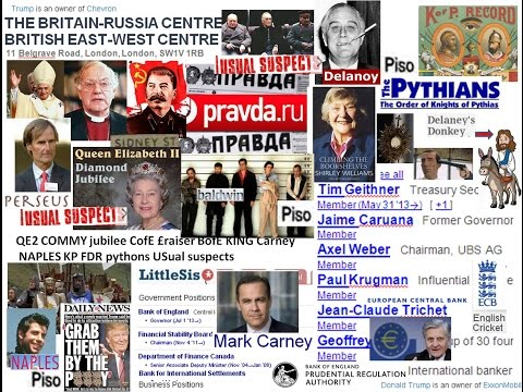 QE2 COMMY jubilee CofE £raiser BofE KING Carney NAPLES KP FDR pythons USual suspects