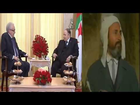 """ALGERIE - un peu d'humour... Lakhdar Brahimi """"je touche du bois"""""""