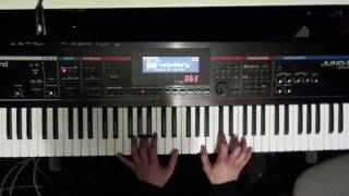 Roland Juno Stage 76 Library demo