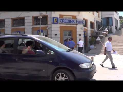 Spectacular robbery of a bank in Albania