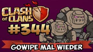 CLASH OF CLANS #344 ★ GOWIPE MAL WIEDER ★ Let's Play COC ★   German Deutsch HD  