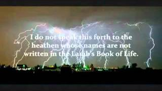 Amightywind Prophecy 106 - I, YAHUVEH, Say, Clean Your House! (to Elisabeth Elijah, yahsladynred)