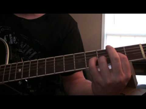 How to play Fill Me Up by Aaron Lewis