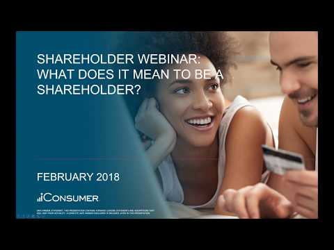 iConsumer Shareholder Webinar - February 20th, 2018