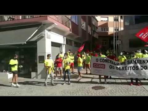 Os socorristas de Sanxenxo comezan as súas protestas