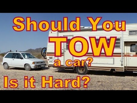 Should you Tow an Economy Car? How Hard is it?