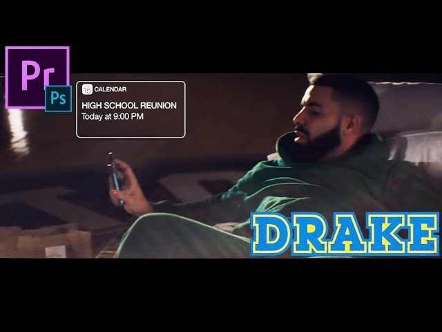 Drake - I'm Upset (Music Video Editing Tutorial) iPhone Pop up Animation Effect Premiere Pro How to
