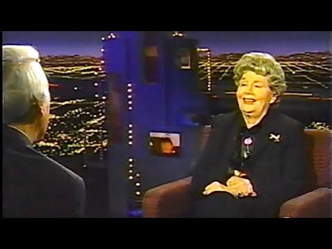 Shelley Winters interview on The Tom Snyder Show--1998