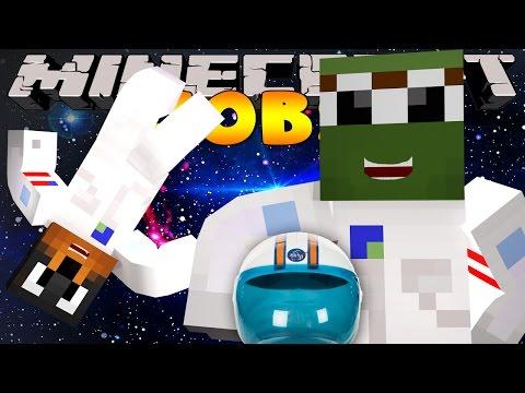 Minecraft Jobs - BECOMING AN ASTRONAUT! (Custom Roleplay)