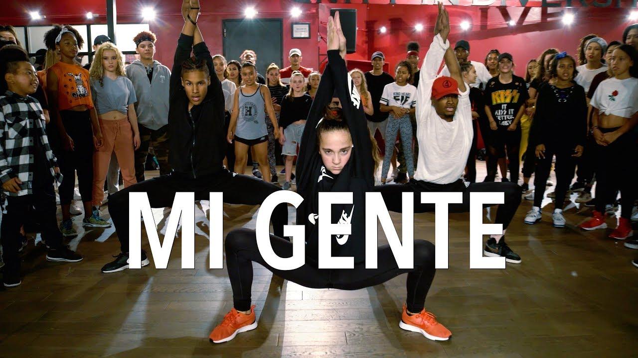 Mi Gente J Balvin Willy William Choreography By Tricia Miranda