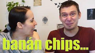 kóShowtoló - banán chips...