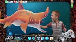 Смешное видео для детей и детские приколы. Мультики! Шок! Акула откусила ... дети играют
