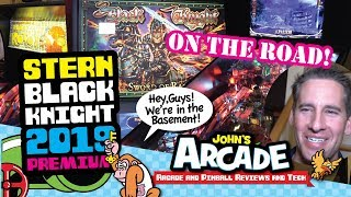 (2019) Stern Black Knight Sword of Rage Pinball Premium Unboxing and Review -