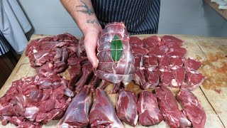 How To Butcher A Deer At Home. TheScottReaProject.