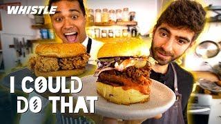 Popeyes Chicken Sandwich CHALLENGE: Pro Chef vs. YouTube Chef!