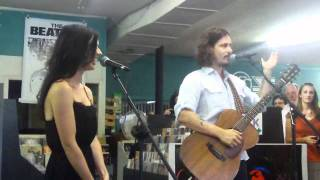 The Civil Wars live at Pegasus Records 7-25-2011