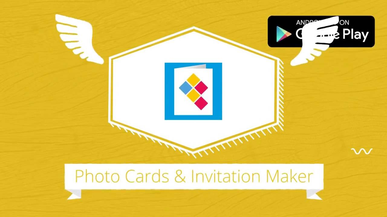 Easy App To Make Diy Cards Wedding Invitations Christmas Greeting