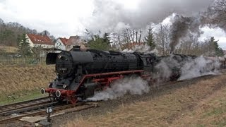 Plandampf 2013, steam locomotives on freight duties in Germany