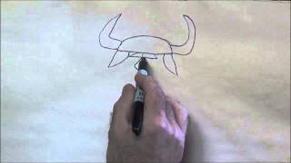 How to Draw Patterns to Wood Carve 2 (Viking Pattern)