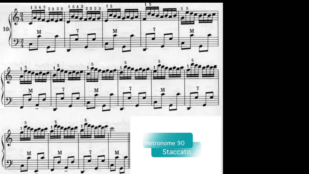 Accordion Lessons - #1 Finger Exercises - Hanon - Improve Your Playing -  Lee Terry Meisinger