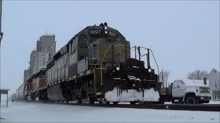 hlcx 6227 leading iory lnl on ottawa loop csx toledo sub ford park