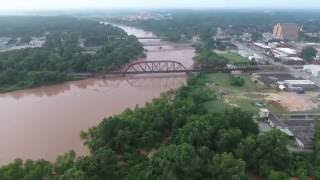 Richmond, TX Flooding from the Brazos River on May 30th, 2016