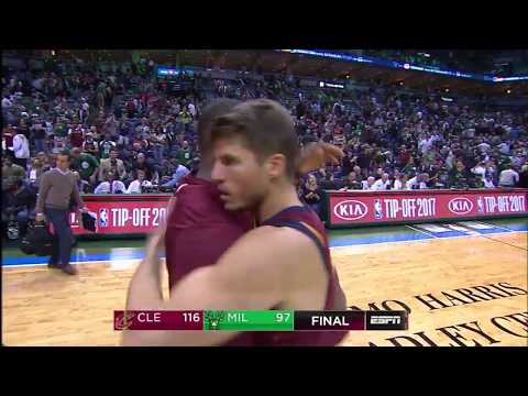 Cleveland Cavaliers vs Milwaukee Bucks: October 20, 2017