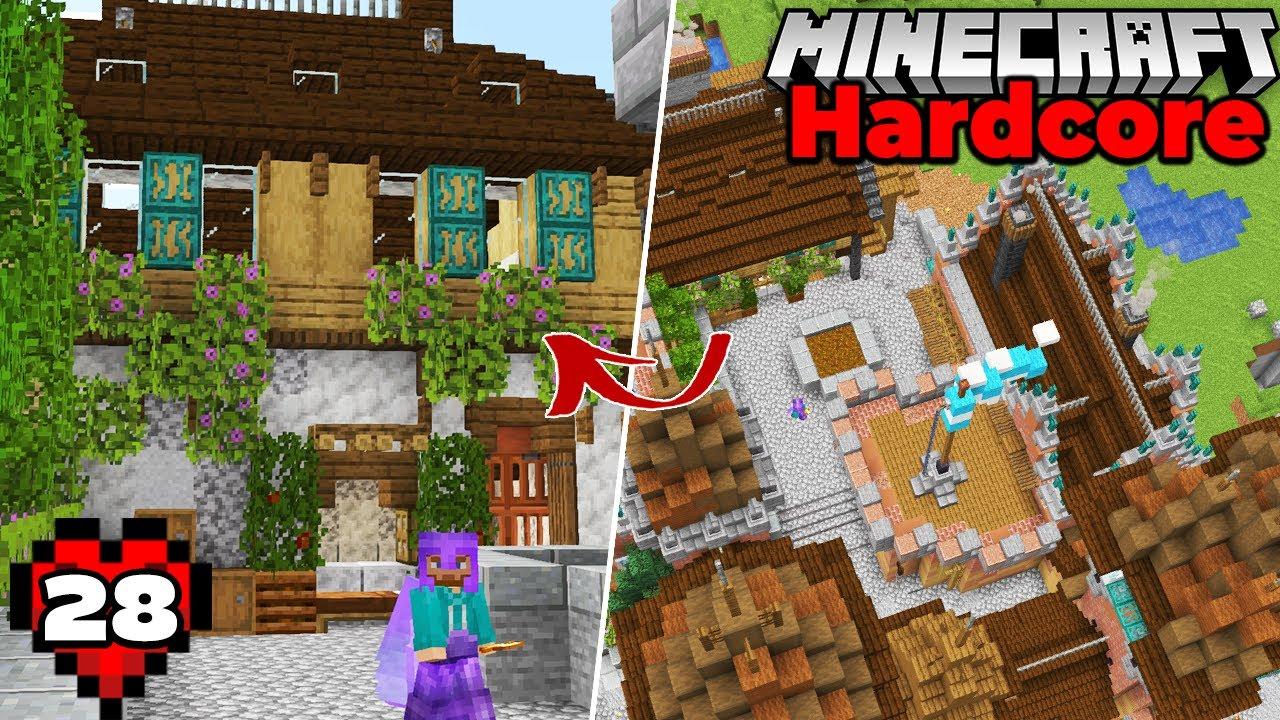 Minecraft 1.17 Hardcore Survival : Castle Kitchen and Guard Barracks