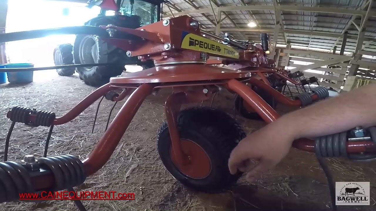 Repeat My thoughts on the Pequea tt4101 tedder by Bagwell Farms
