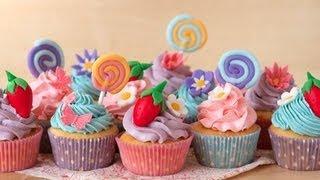 Смотреть видео капкейки с днем рождения