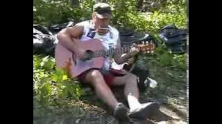 Губная гармоника и гитара Одинокий пастух