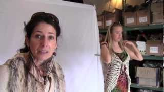 Hippie Clothes designer Liora from Jayli talking about inspiration of their Spring Line