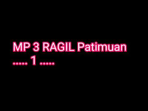 Album MP3. RAGIL. 1