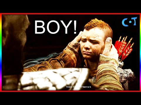 Everytime Kratos Says Boy - God of War thumbnail