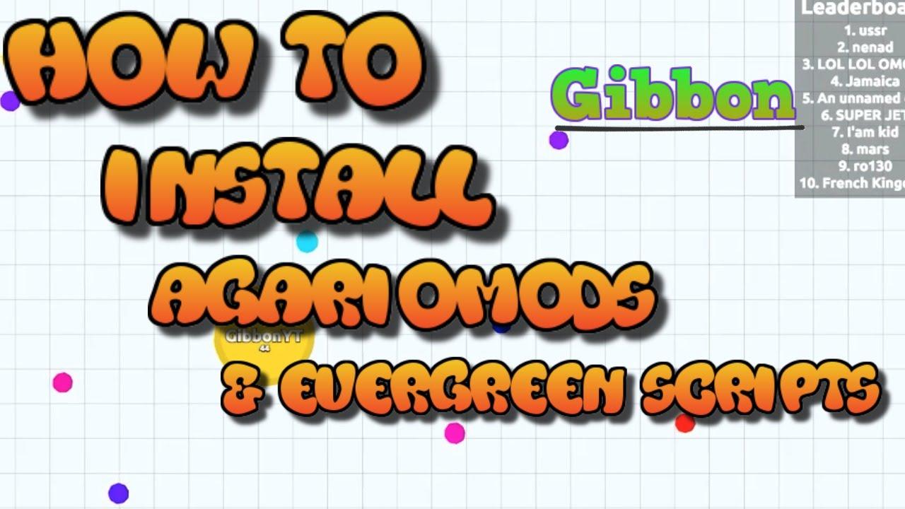 how to install agar