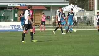 15 settembre 2018  sintesi primavera Udinese  -  Empoli  3-2