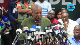Our journey towards the 2020 elections starts today -  Mahama
