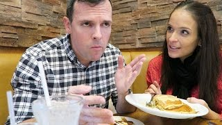 WHO MAKES BETTER PANCAKES?? (Mama Bee vs. Denny's)