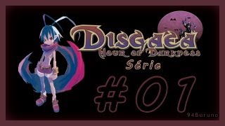Disgaea Hour of Darkness Serie \\ Episódio 1 // Overlord Laharl (01) HD
