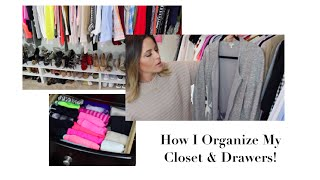 Closet Organization: Cleaning out my Closet!