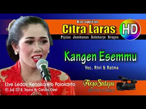 Lirik Lagu KANGEN ESEMMU (Duet) Sragenan Karawitan/Campursari - AnekaNews.net