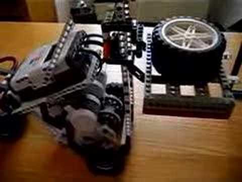 Lego Mindstorms Forklift Project Youtube