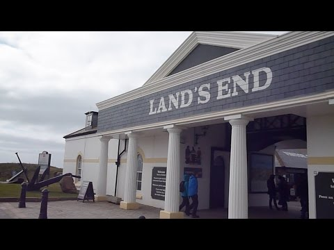 Penzance to Lands End Cornwall England by Bus 2015