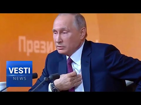 Putin at the Open Press Conference: US Is Pushing Unwilling Russia to Boost Defense Expenditure