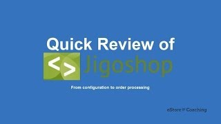 Considering Jigoshop Estore | Wordpress Ecommerce Series