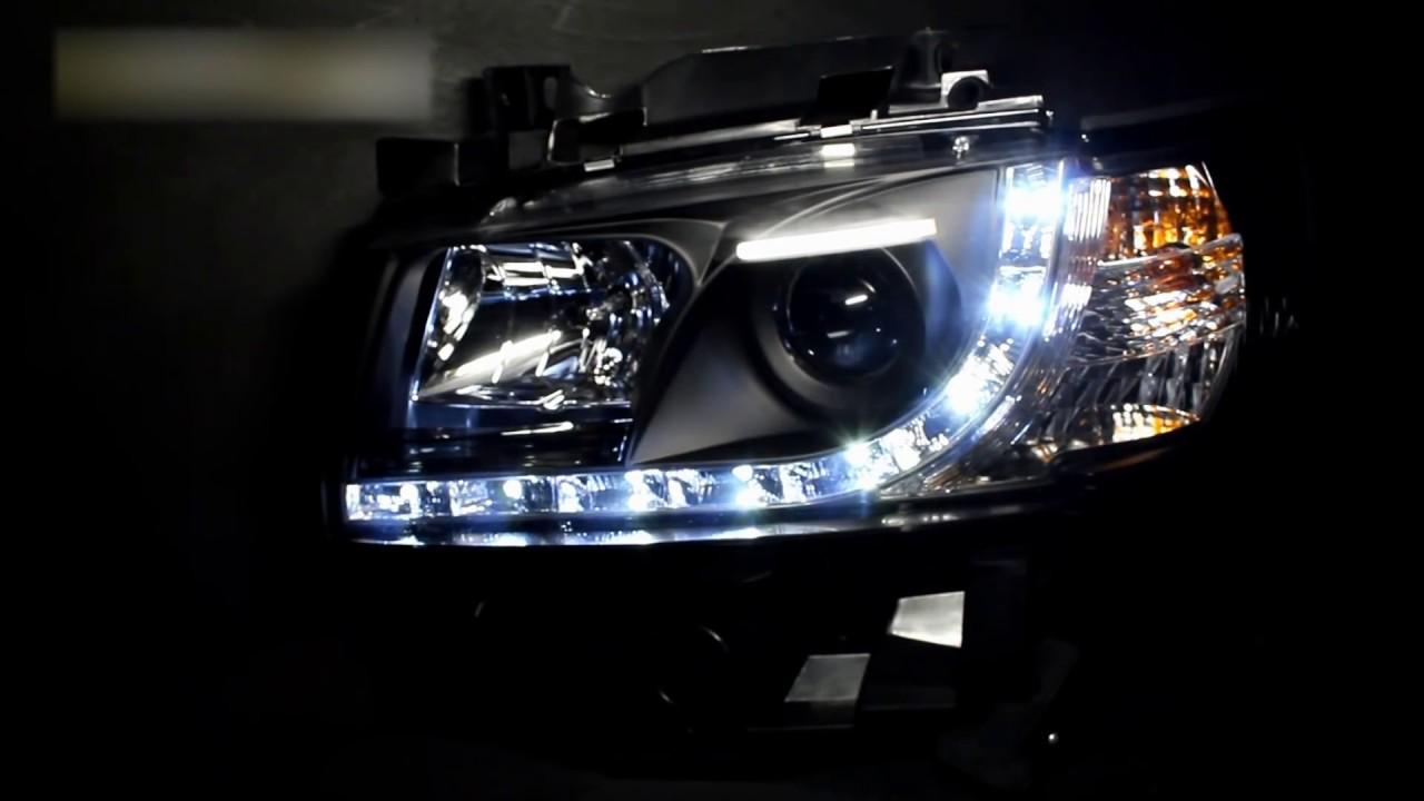Тюнинг фары Транспортер, Мультивен Т4 | Headlights Volkswagen T4