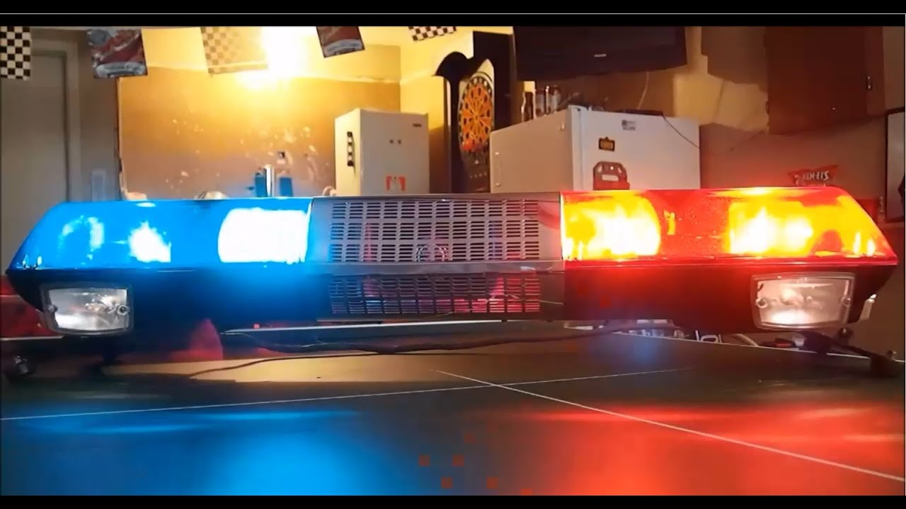 Federal Signal Streethawk Sh48 With Speaker Youtube