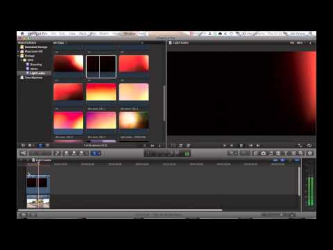 How To: Light Leaks, Film Burns, Color Flares (Video Editing Tip)