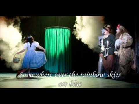 Over the Rainbow Karaoke (Danielle Hope version)