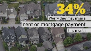 One-third of Canadians worried about next rent or mortgage payment: poll